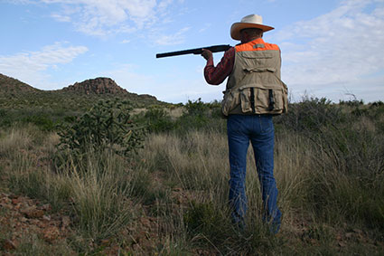 Cibolo Creek Ranch Activities Clay Shooting and Hunting